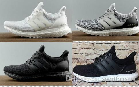 369 Ultraboost 3.0 Triple Black Casual Running Shoes Men Women High Quality Ultra Boost 3 III Core Black White Athletic Shoes EUR 36-45 in China online cheap latest collections shopping online free shipping pay with visa sale online XxFNreK