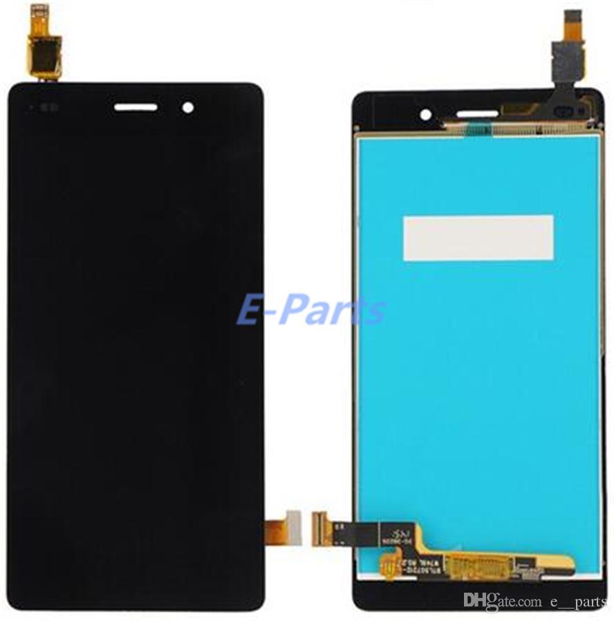 Huawei Onur için P8 lite Lcd Ekran Dokunmatik Ekran Digitizer Meclisi Yedek DHL Ücretsiz kargo Ile