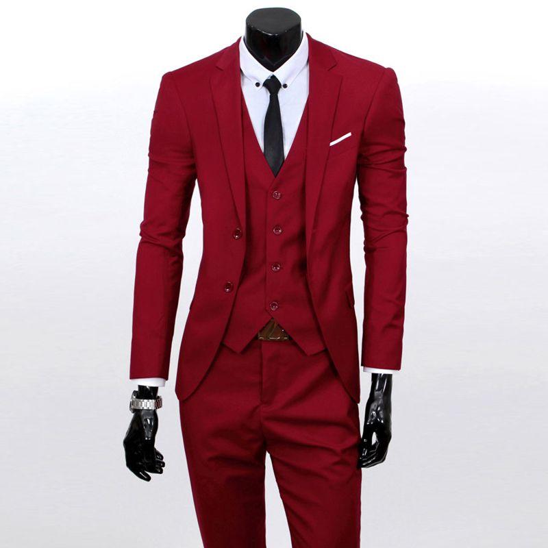 2018 Wholesale 2016 Brand Designer Mens Wedding Suit New Fashion ...