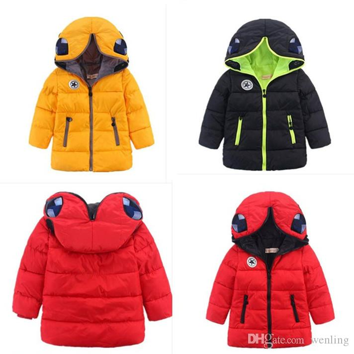 Retail Girls Outerwear Coats New Children'S Winter Jackets Boys ...