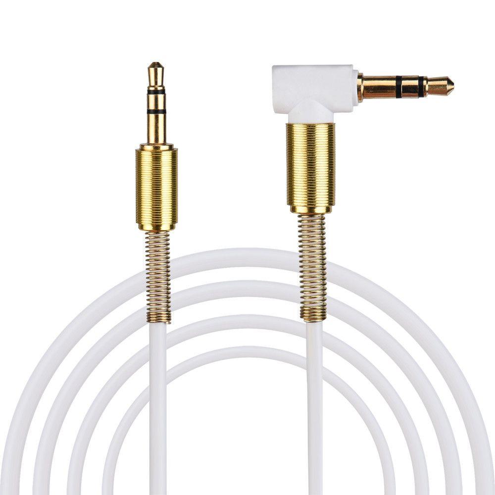 3.5mm العالمي مساعد الصوت الكابل سليم ولينة AUX كابل لسماعات ستريو السيارة الرئيسية