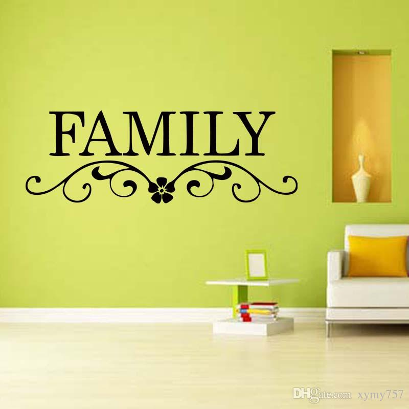 Beautiful Family Vinyl Wall Art Frieze - Wall Painting Ideas ...