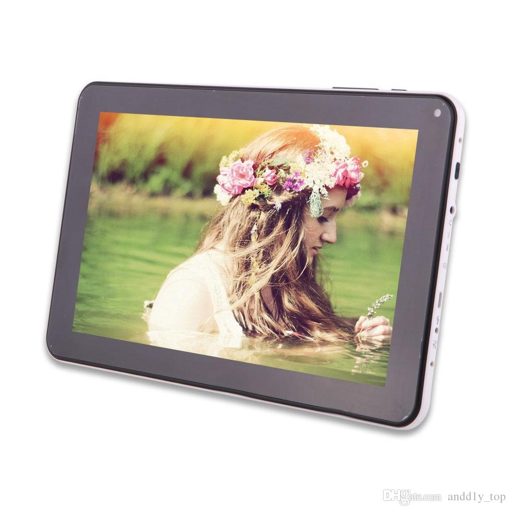 Quad Core 9 inch A33 Tablet PC with Bluetooth flash 1GB RAM 8GB ROM Allwinner A33 Andriod 4.4 1.5Ghz US02