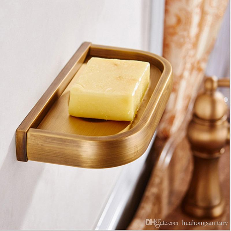 2018 Wall Mounted Solid Brass Copper Soap Dish / Soap Tray /Bathroom Soap  Dispensers From Huahongsanitary, $23.12 | Dhgate.Com