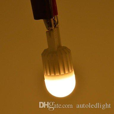 G9 5W/7W Dimmable 110V-220V 1 LEDs Lamp 360 Beam Angle Warm/Cool White LED Miniature Candle Bulb 10x