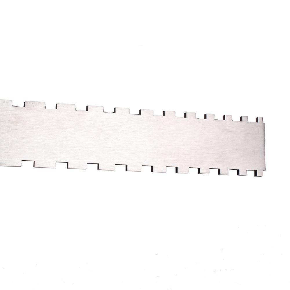 Guitar Neck Notched Straight Edge Luthiers Tool for Most Electric Guitars for Fretboard and Frets Stainless Steel