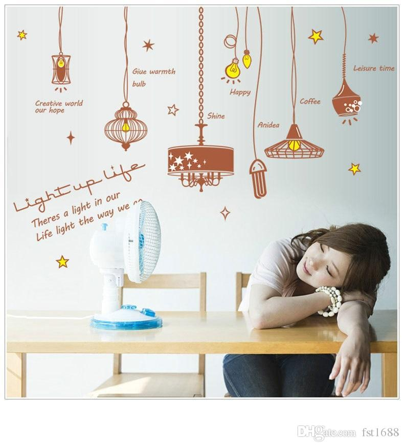 Sk9001 creative chandeliers wall stickers gorgeous light vinyl sk9001 creative chandeliers wall stickers gorgeous light vinyl stickers chandelier wall decal wallpaper poster home decor childrens wall decals childrens aloadofball Choice Image