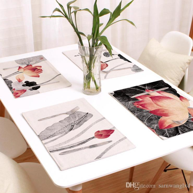 Non-Slip Multifunction Placemat Table Mat Antiskid Cup Waterproof Mats Dining S