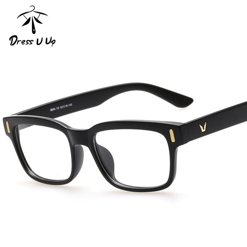 84a4ce08c79 2019 Wholesale DRESSUUP 2016 Vintage Eyeglasses Frame For Woman Men Classic  Square Optical Acetate Glasses Frame Eyewear Oculos De Grau Gafas From  Value222