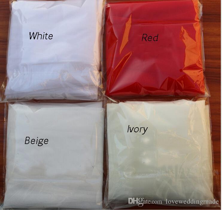 5 farben, 1,5 * 3 mt lange drei schichten brautschleier mit kamm einfache weiche tüll brautschleier 2019 elegante brautschleier