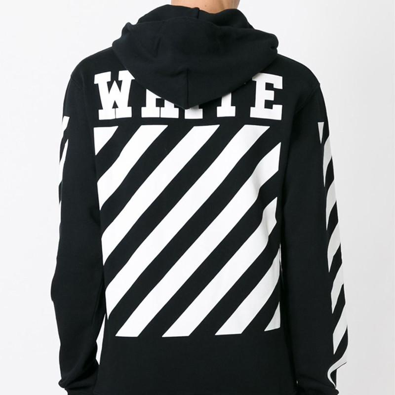 7fed21ea649 Wholesale-OFF WHITE Hoodie Men Harajuku Brand Sweatshirt Hip Hop ...