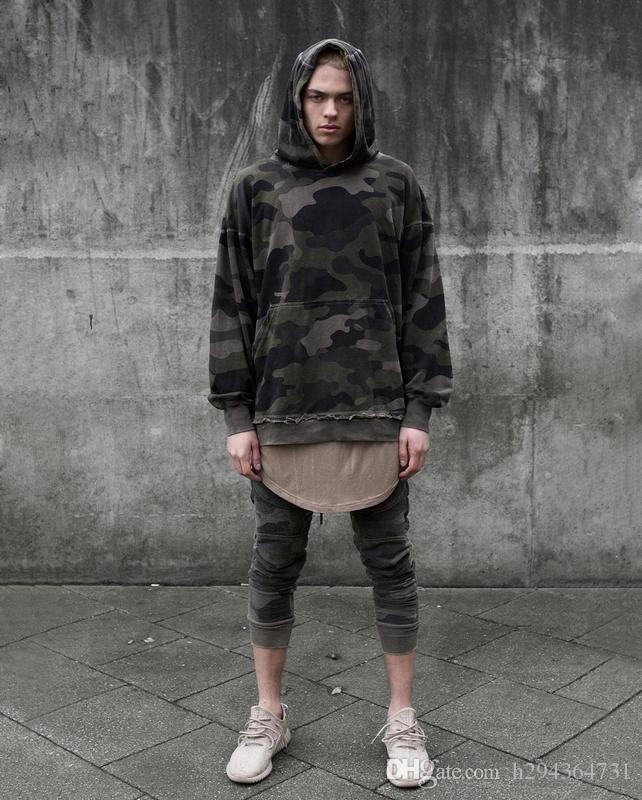 Wholesale Youtube Korean Oversized Streetwear Hoodie Mens Fashion Urban  Clothing Kanye Harajuku Camouflage Pullover Hoodies Men UK 2019 From  H294364731 3bc364c4529