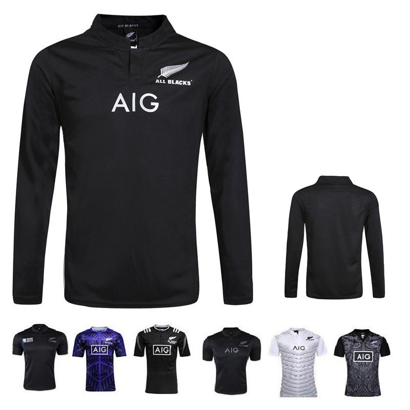 c673b87782c 2019 Hot Sale New Coming New Zealand Rugby Jersey Long Sleeve AIG .