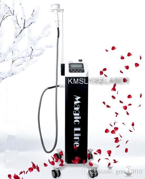Nagelneue koreanische neue Technologie Magic Line 3 Griffe jeder Griff mit RF Vakuum verschiedene Farbe LED-Leuchten Hochfrequenz Gewichtsverlust Maschine