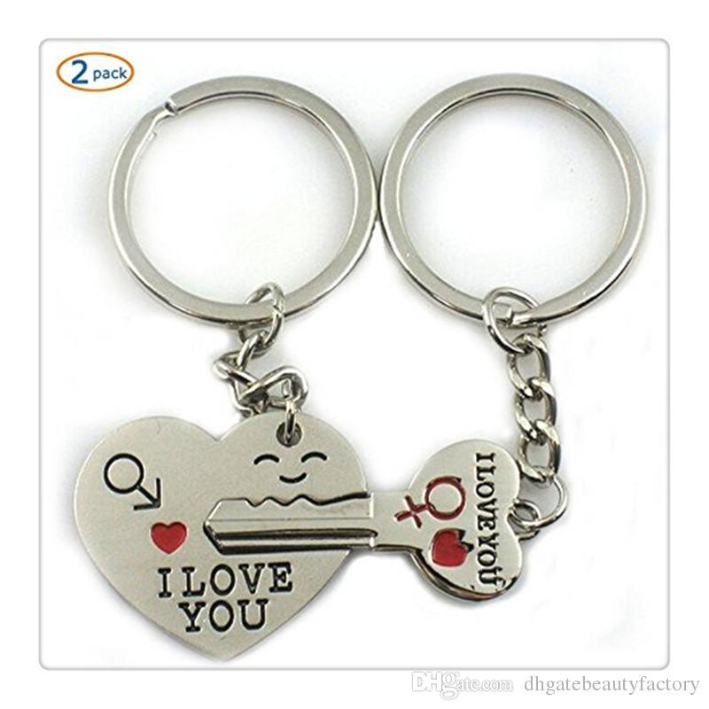 692e589b29 2019 High Quality Love You Key Lock Heart Couple Key Chain Birthday Gift  Wedding Supplies I Love You Keychains From Dhgatebeautyfactory, $1.03 |  DHgate.Com