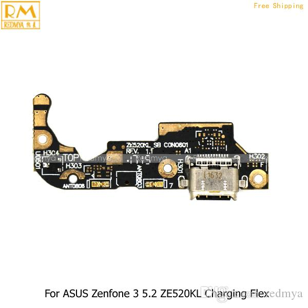 5pcs/lot For ASUS ZenFone 3 5.5 ZE552KL, 5.2 ZE520KL, 5.5 MOON Micro USB Charging Charger Dock Port Flex Cable Repair Replacement Parts