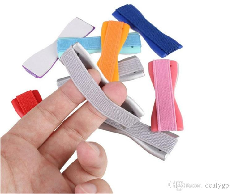 New Arrival Elastic Belt Strap Finger Grip Cell Phone Holder for Iphone for Samsung Galaxy s7 edge