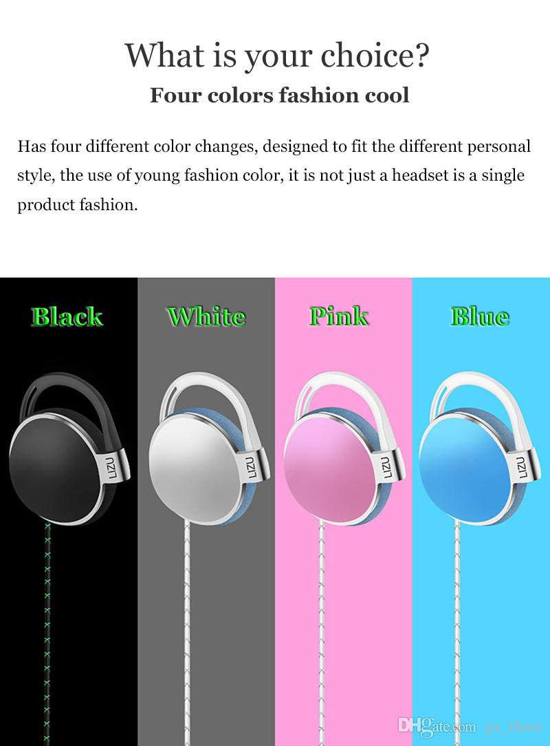 Earphone Earbuds Headphones for iPhone X 8 Samsung S7 Neckband Headsets for Jack In Ear With Mic Volume wired Control 3.5mm RetailBox