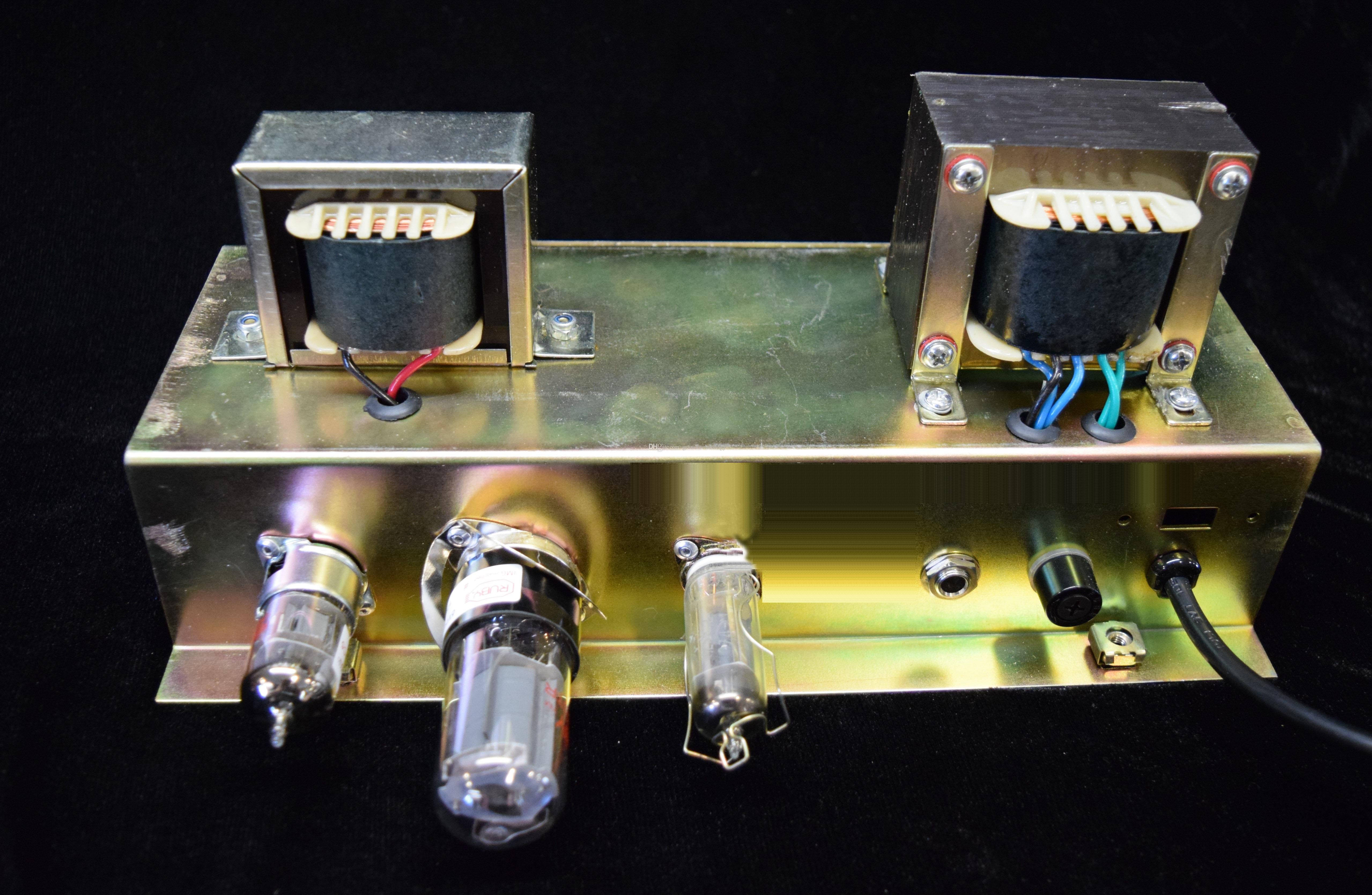 Hot Selling Custom Hand Wired All Tube Electric Guitar Amplifier Apmilifier Mini Bass Circuit And Explanation 5f1a Chassis Without Speaker Cabinet Musical Instruments Amp