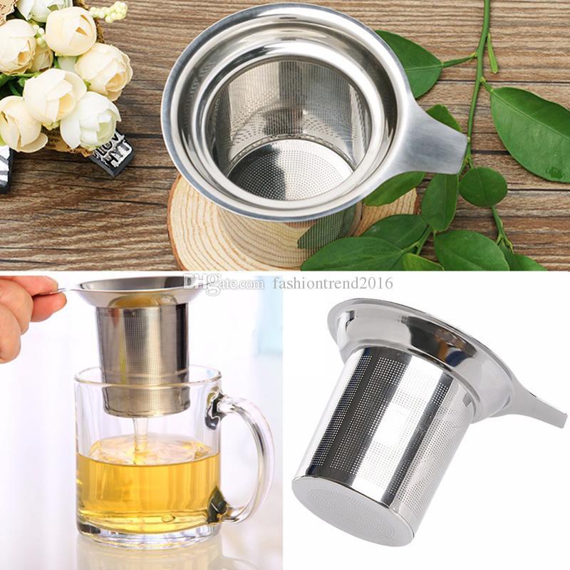 Edelstahl-Maschen-Tee-Infuser wiederverwendbarer Teesieb-loser Teeblatt-Gewürz-Filter