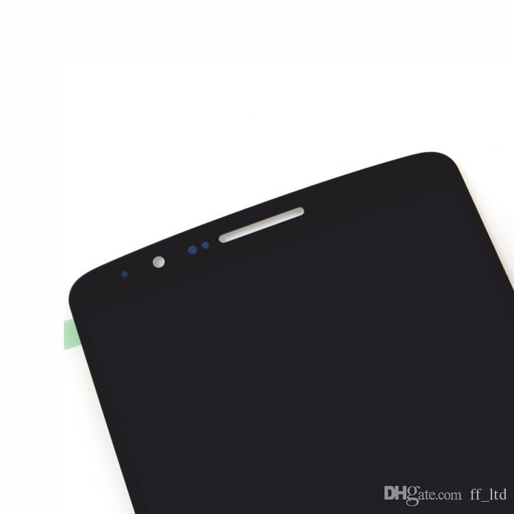 Originale AAA +++ LG G3 D850 D851 D855 VS985 Visualizzatore digitale LCD LS990 con touch screen Assemblaggio completo Sostituisci 100% testato