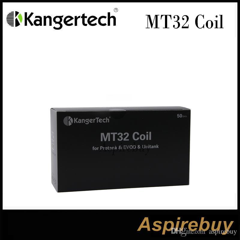 Kanger MT32 Coil وحدة لفائف لفائف Evod / Protank 2 / Mini Protank 2 / Unitank لجميع الملفات الفردية Clearomizers 100٪ الأصلي