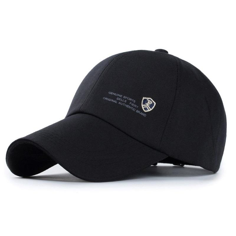 Wholesale Casual Cotton Baseball Cap Genuine Men S Sports Snapback Caps  With Letter Shield Logo Outdoor Fashion Running Hats Big Hats Hat Stores  From Hoganr ... fd59fc1ab04