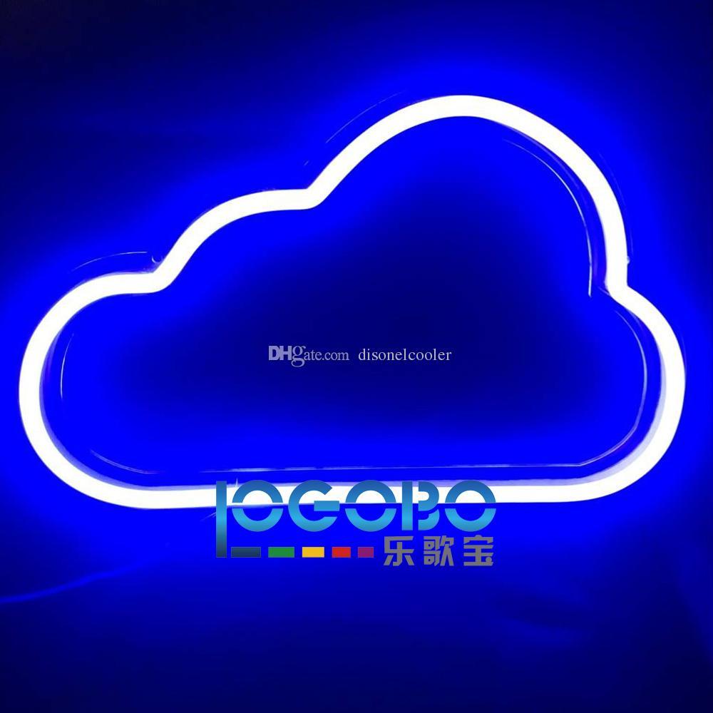 acheter grand pas cher 18x11inch led personnalisé couleur neon lampe