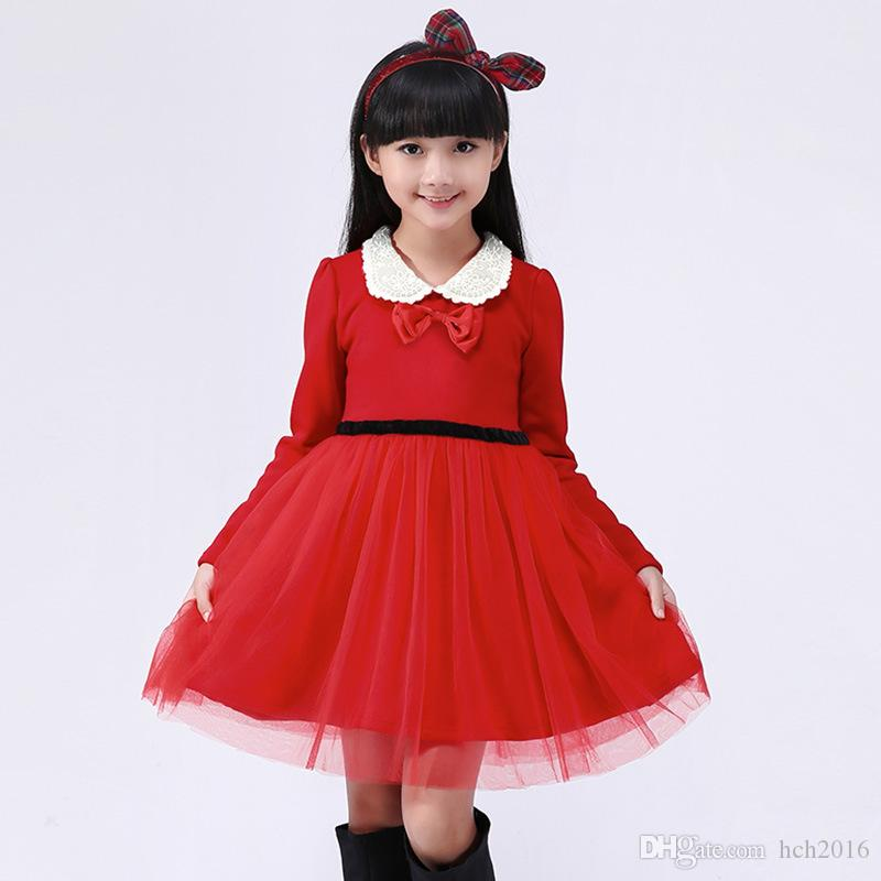 2019 Baby Kids Clothing Girl S Christmas Pageant Dresses
