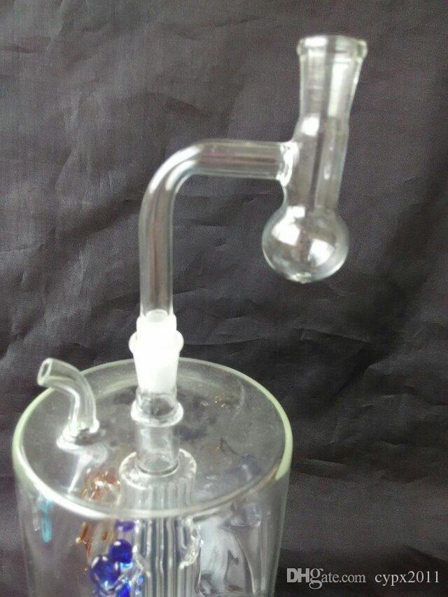 Cam Boru Petrol Kuyuları Droppe ile Sigara T şeklinde şeffaf filtre tüp cam bonglar aksesuarları, Benzersiz Yağ Brülör Cam Boruları Su