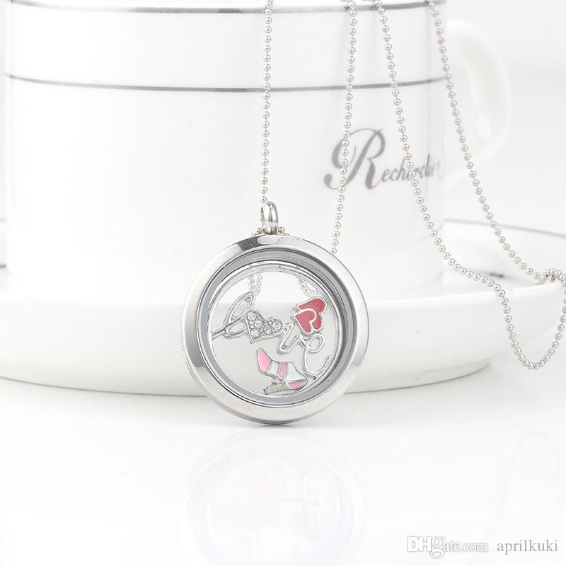 Top Sale Mix Design Floating Charms for Glass Living Memory Locket Pendant DIY Floating Charms Lockets Jewelry Accessories