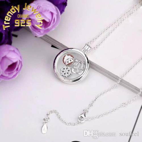 2018 4 style floating locket pendant necklace women magnetic 2018 4 style floating locket pendant necklace women magnetic living memory glass floating charm locket with bead chains diy s925 sliver necklaces from aloadofball Choice Image