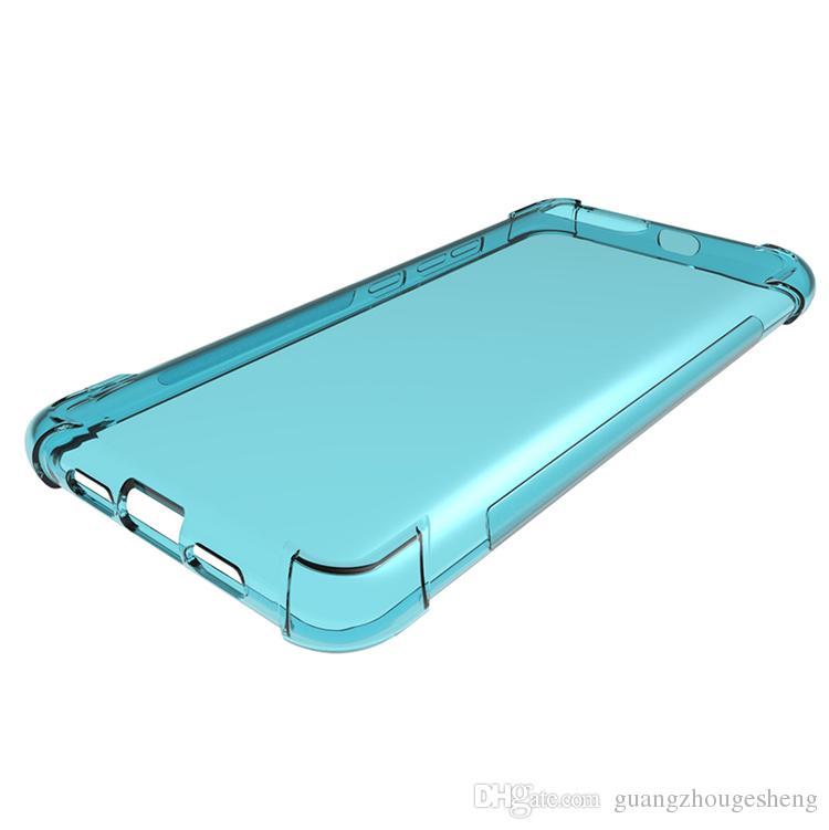 Cas de téléphone de jeu pour Xiaomi Black Shark Mi 6 Transparent Gel Doux Absorption Des Peaux Doux TPU Couverture