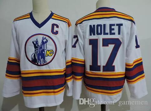 6a659d5c92a 2019 Mens SIMON NOLET Jersey Kansas City Scouts #17 SIMON NOLET White 1975  VINTAGE Hockey Stitched Jerseys Adult Size From Gamemen, $24.83 | DHgate.Com