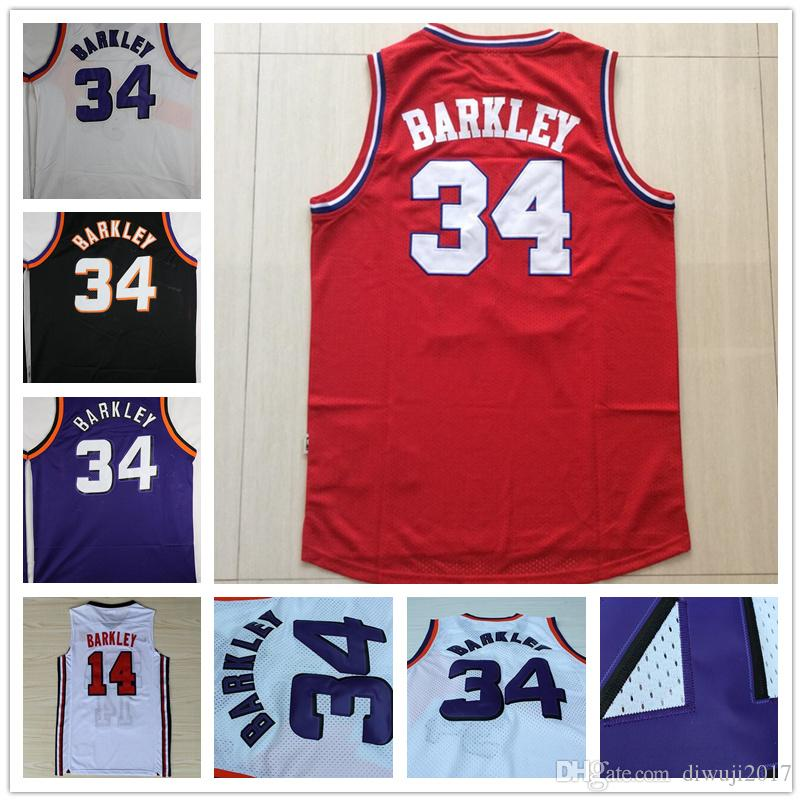 966678f52 ... 2017 2017 Hot Sale 1992 Usa Dream Team One 14 Charles Barkley Jersey  Fashion 34 Charles ...