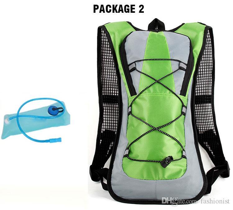 Спорт на открытом воздухе Водный Мешок Велоспорт Велосипед Рюкзак Water Pack 5L Мочевого пузыря Рюкзак ТПУ Чехол Система Гидратации для Пеших Прогулок Восхождение