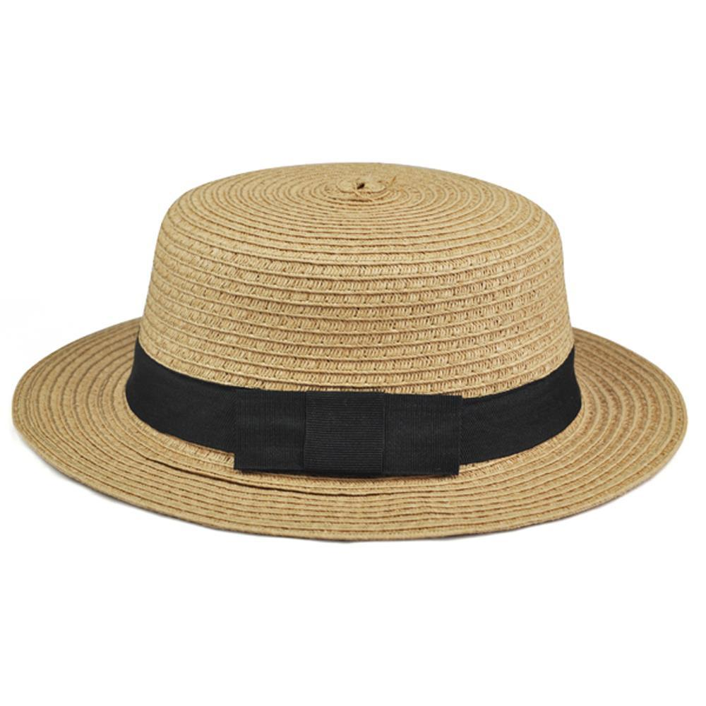 Wholesale HOT SALE!Sweet Womens Ladies Summer Beach Sun Visor Bowknot  Floppy Foldable Straw Hat Tilley Hat Pillbox Hat From Heheda1 862a32fdf66