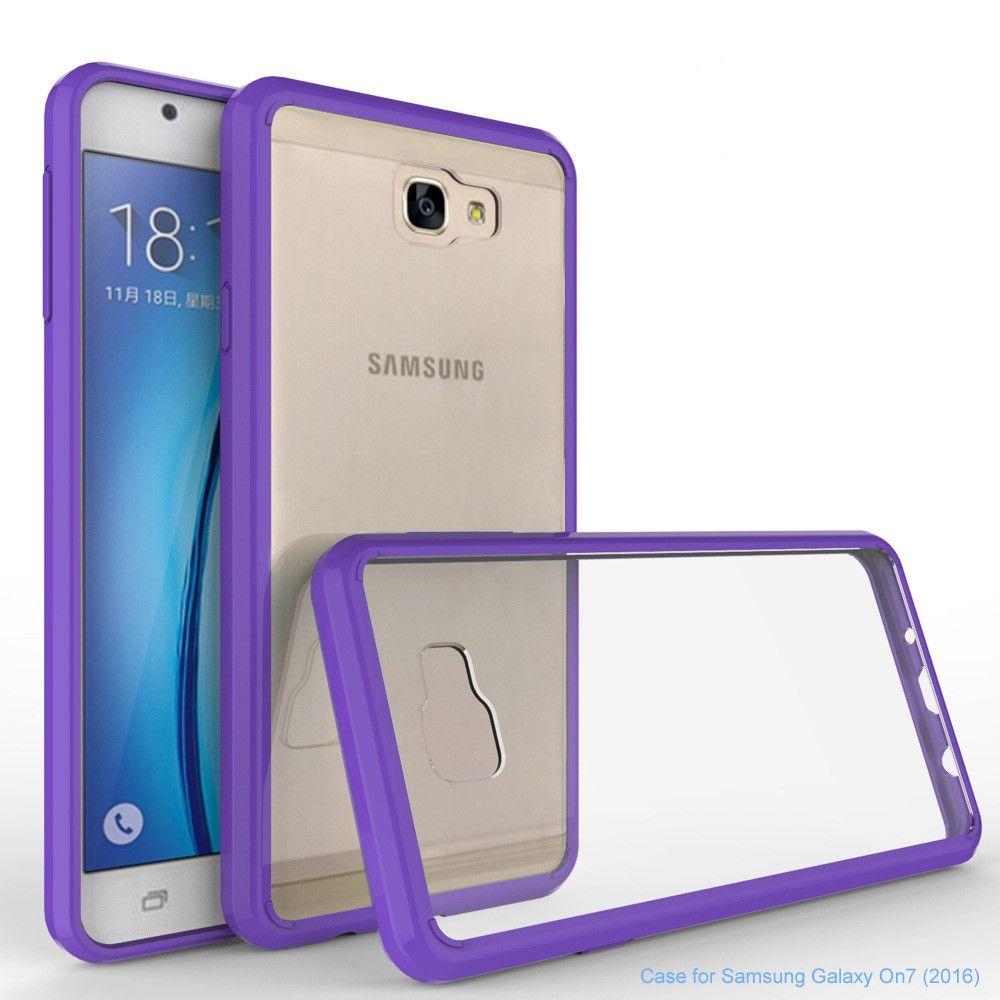 Htc One Hulle Fur Samsung Galaxy J7 Prime On5 2016 Rustung Fall Transparent Klare Hybrid Stossfest Ruckseitige Abdeckung Telefon Zubehor