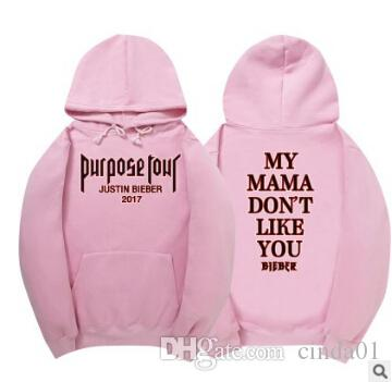 But Tour Justin Bieber Hoodies hommes Sweat Homme de haute qualité Pull Cool Hip Hop Streetwear Sweat à capuche femme