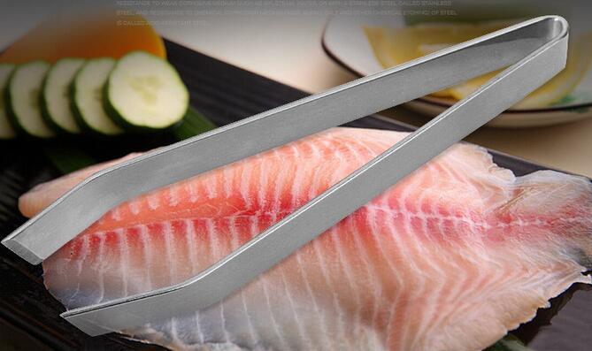 Новый Нержавеющей Стали Рыбы Кости Пинцет Для Удаления Клещи Съемник Щипцы Пикап Инструмент Ремесла