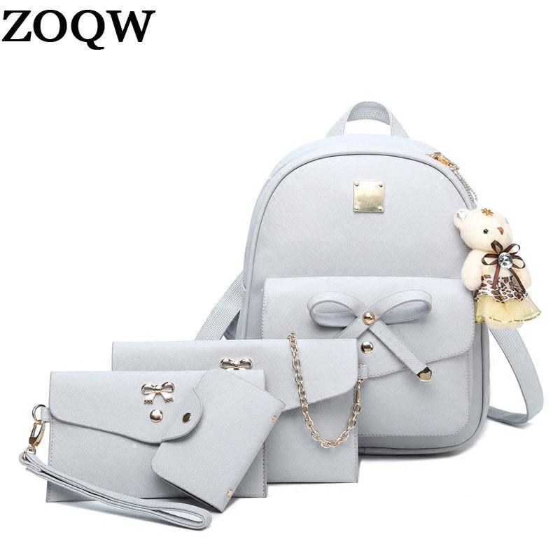 2017 New Women Backpack Small Size Fashion Backpacks For Teenage ...