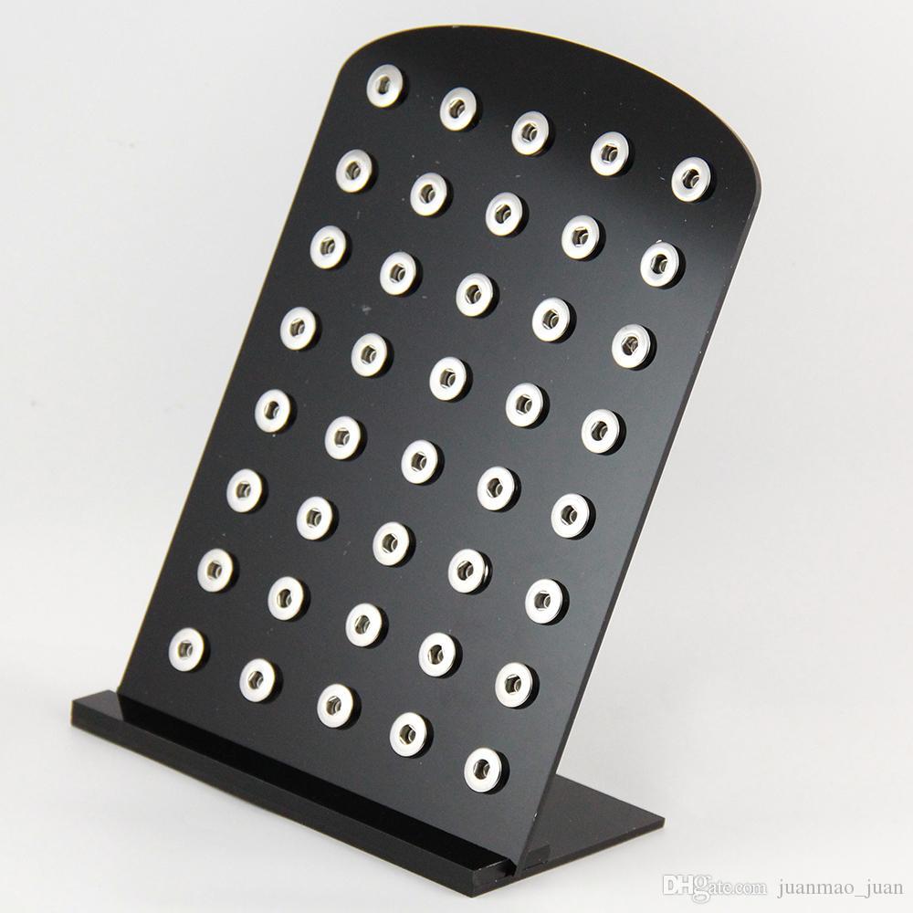 Черный акриловый Оснастки стенды дисплей набор 5.3