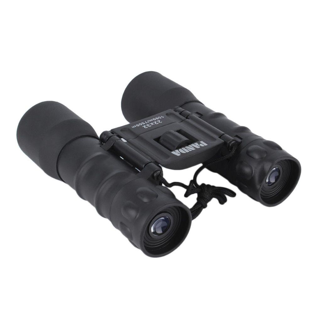 2017 Hot Folding Day Night 22x32 Binoculars Telescope 150m-750m Zoom High Magnification Night Vision Binoculars for Outdoor