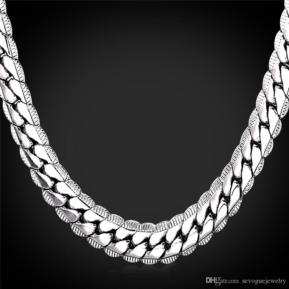 set stainless zhc figaro jewelry mens bracelet necklace s steel bling chain chains