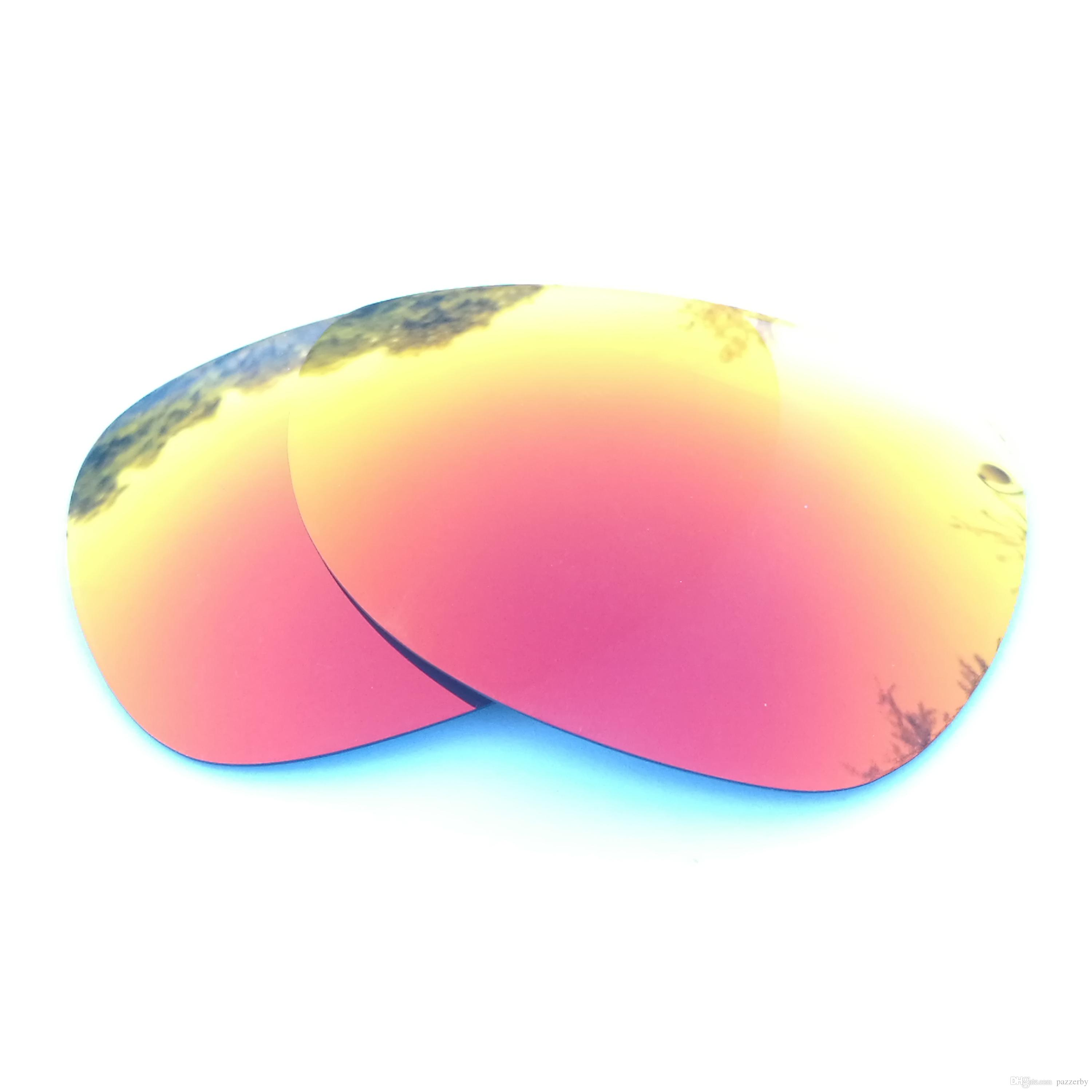 dbb3552b5018 2019 Orange Red Mirrored Polarized Replacement Lenses For Felon Sunglasses  Anti Saltwater Anti Dust From Pazzerby