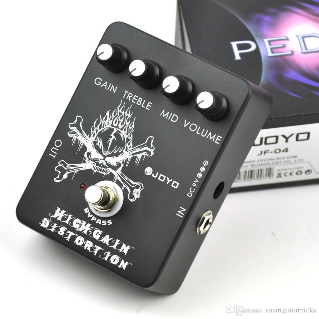 Pedal de efectos de guitarra eléctrica Joyo JF-04 High Gain Distortion
