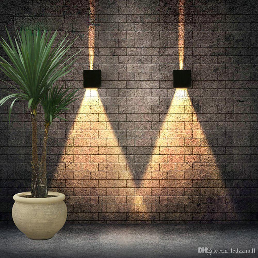 Best Wall L& 6w Led Wall Sconces Wall Lights Adjustable Angle Cube Simple Modern Up Ip67 Surface Mounted Outdoor Cube L& Waterproof Up Down Under $21.91 ... & Best Wall Lamp 6w Led Wall Sconces Wall Lights Adjustable Angle Cube ...