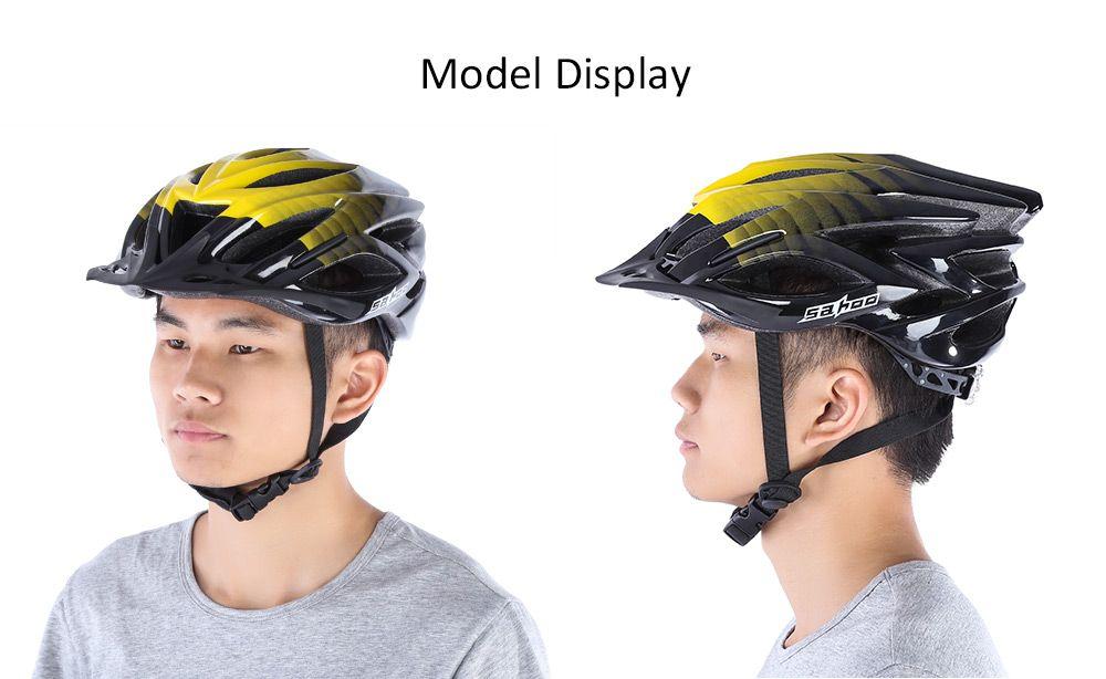 SAHOO 53 - 60 CM 23 Löcher Erwachsene Sicherheit Sport Helm Seidenmatt Vents Helm Ultraleicht EPS MTB Mountain Road Fahrradhelm