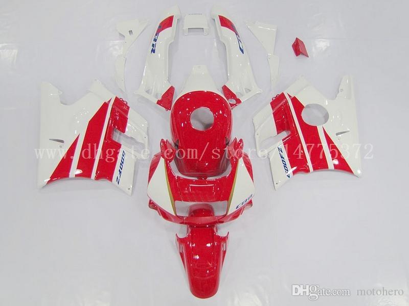 CBR600 Fairings+tank for Honda CBR600 F2 91 92 93 94 CBR 600 1991 1992 1993 1994 CBR600F2 fairing kits #g93l4 Red white