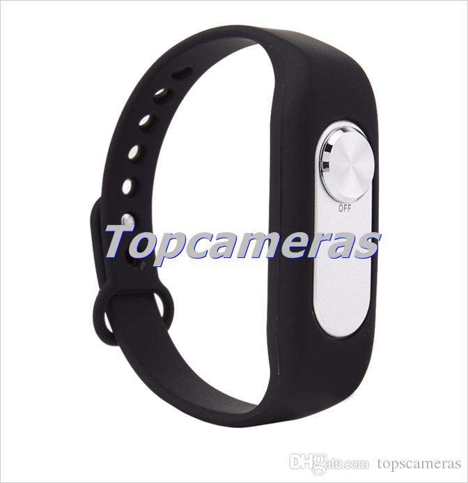 New Design Multi Colors Wearable Wristband 4GB Digital Voice Recorder Watch One Button Long Time Recording WAV 128Kbps WR-06